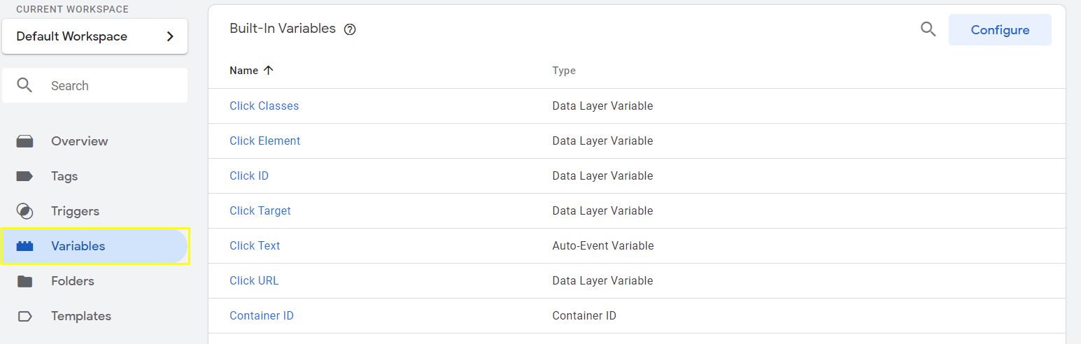 Create a Pride Variable Script in Google Tag Manager